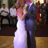 Der Hochzeitstanz wird von Live Gesang untermalt